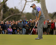 21 Feb 15 Sergio Garcia during Sunday's Final Round of The Northern Trust Open at The Riviera Country Club in Pacific Palisades,  California.(photo credit : kenneth e. dennis/kendennisphoto.com)