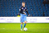 Maxime LE MARCHAND  - 12.12.2014 - Le Havre / Laval - 17eme journee de Ligue 2 <br /> Photo : Fred Porcu / Icon Sport