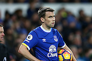 Seamus Coleman of Everton looks on. Premier league match, Everton v Swansea city at Goodison Park in Liverpool, Merseyside on Saturday 19th November 2016.<br /> pic by Chris Stading, Andrew Orchard sports photography.