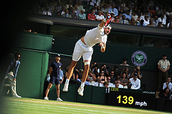 July 13, 2018 - Angleterre - Wimbledon - John Isner USA (Credit Image: © Panoramic via ZUMA Press)