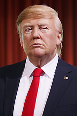 London - Donald Trump In Oval Office Wax Figure Unveiled At Madame Tussauds - 18 Jan 2017