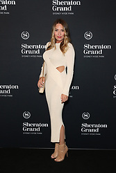VIP guests, industry leaders and local celebrities celebrate the official launch of Sheraton Grand Sydney Hyde Park at a spectacular black-carpet soiree. More than 500 people are expected to join in the revelry at Sydneys first-ever Sheraton Grand hotel.<br /> 15 Nov 2018<br /> Pictured: Lisa Clarke.<br /> Photo credit: Richard Milnes / MEGA<br /> <br /> TheMegaAgency.com<br /> +1 888 505 6342