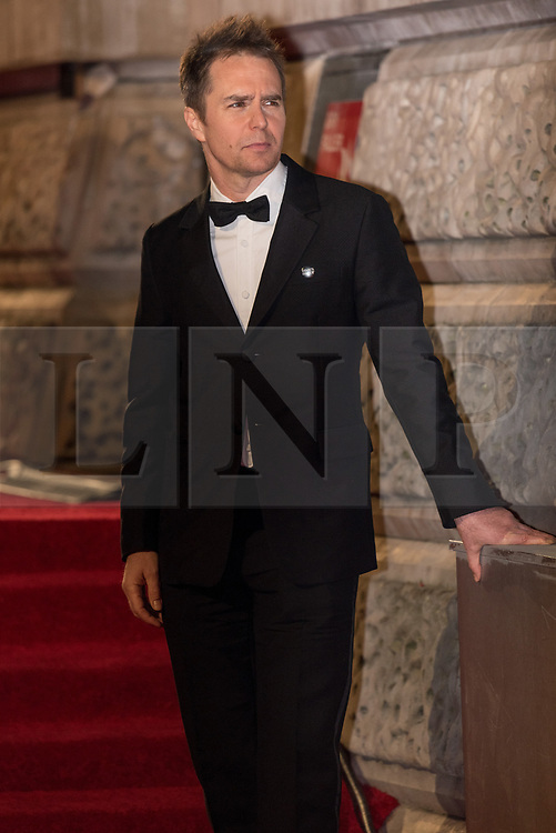 © Licensed to London News Pictures. 18/02/2018. SAM ROCKWELL arrives on the red carpet for the EE British Academy Film Awards 2018, held at the Royal Albert Hall, London, UK. Photo credit: Ray Tang/LNP