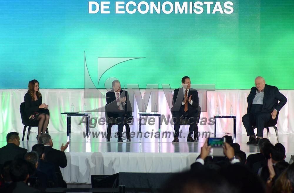 """Toluca, México (Noviembre 04, 2016).- XXI Congreso Nacional de Economistas """"Recuperemos la Confianza"""".  Agencia MVT / José Hernández."""