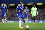 Cesar Azpilicueta of Chelsea in action. The Emirates FA Cup, 5th round match, Chelsea v Manchester city at Stamford Bridge in London on Sunday 21st Feb 2016.<br /> pic by John Patrick Fletcher, Andrew Orchard sports photography.