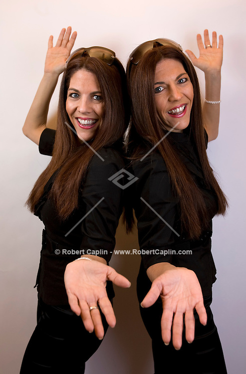 Debbie and Lisa Ganz at Twins Talent 1/13/08.