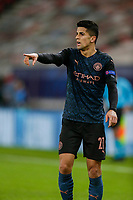 PIRAEUS, GREECE - NOVEMBER 25: João Cancelo of Manchester City during the UEFA Champions League Group C stage match between Olympiacos FC and Manchester City at Karaiskakis Stadium on November 25, 2020 in Piraeus, Greece. (Photo by MB Media)