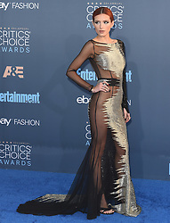 Stars attend the 22nd Annual Critics Choice Awards in Santa Monica, California. 11 Dec 2016 Pictured: Bella Thorne. Photo credit: Bauer Griffin / MEGA TheMegaAgency.com +1 888 505 6342