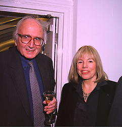 LORD & LADY RAVENSDALE at a party in London on 27th January 1998. MEX 54