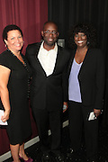 September 20, 2012- New York, New York:  (L-R) Debra Lee, President & CEO, BET Networks, Stacy Spikes, Founder, Urbanworld Film Festival and Loretta Jones, president, original programming, BET Networks attend the 2012 Urbanworld Film Festival Opening night premiere screening of  ' Being Mary Jane ' presented by BET Networks held at AMC 34th Street on September 20, 2012 in New York City. The Urbanworld® Film Festival is the largest internationally competitive festival of its kind. The five-day festival includes narrative features, documentaries, and short films, as well as panel discussions, live staged screenplay readings, and the Urbanworld® Digital track focused on digital and social media. (Terrence Jennings)