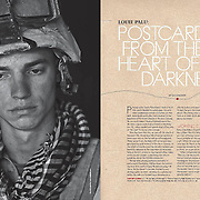 Postcards from the Heart of Darkness, feature in Photo District News.