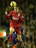 Fotball<br /> Premier League 2004/05<br /> Liverpool v Arsenal<br /> 28. november 2004<br /> Foto: Digitalsport<br /> NORWAY ONLY<br /> Liverpool's Dietmar Hamann
