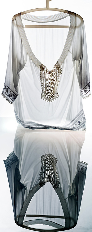 antique shirt with embroidery