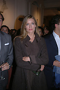 Natasha  McElhone. A photo exhibition in support of Facing the World <br />Hosts: Christopher Bailey with Eliane Fattal, Yasmin Mills, Emily Oppenheimer Turner, Catherine Prevost and Elizabeth Saltzman Walker.  Burberry, 18 - 22 Haymarket, SW1  .  9 November 2005. ONE TIME USE ONLY - DO NOT ARCHIVE © Copyright Photograph by Dafydd Jones 66 Stockwell Park Rd. London SW9 0DA Tel 020 7733 0108 www.dafjones.com