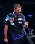 Martijn Kleermaker during the BDO World Professional Championships at the O2 Arena, London, United Kingdom on 5 January 2020.