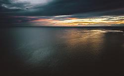 THEMENBILD - die Adria nach einem Gewitter bei Sonnenuntergang, aufgenommen am 03. Juli 2020 in Novigrad, Kroatien // the Adriatic Sea after a storm at sunset in Novigrad, Croatia on 2020/07/03. EXPA Pictures © 2020, PhotoCredit: EXPA/ JFK