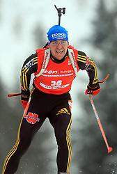 Michael Greis (GER) at Men 20 km Individual at E.ON Ruhrgas IBU World Cup Biathlon in Hochfilzen (replacement Pokljuka), on December 18, 2008, in Hochfilzen, Austria. (Photo by Vid Ponikvar / Sportida)