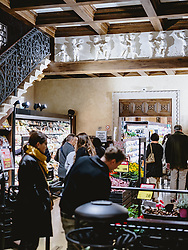 THEMENBILD - Teatro Italia, di Spar Einkaufsgeschäft, aufgenommen am 03. Oktober 2019 in Venedig, Italien // Teatro Italia, di Spar shopping mall in Venice, Italy on 2019/10/03. EXPA Pictures © 2019, PhotoCredit: EXPA/ JFK