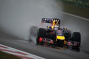 April 17, 2014 - Shanghai, China. UBS Chinese Formula One Grand Prix. Sebastian Vettel (GER), Red Bull-Renault