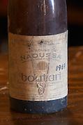 Naoussa 1969. Boutari Wineries, Steinmachos, Naoussa, Macedonia, Greece