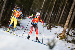 Marte Olsbu Roeiseland (NOR) during the Mass Start Women 12,5 km at day 4 of IBU Biathlon World Cup 2019/20 Pokljuka, on January 23, 2020 in Rudno polje, Pokljuka, Pokljuka, Slovenia. Photo by Peter Podobnik / Sportida