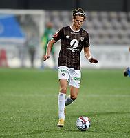 Fotball , 19. september 2021 , Mjøndalen - Sandefjord 1-1<br /> <br /> Erik Skistad , MIF
