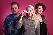 Portraits of Rökkurró taken during Iceland Airwaves Music Festival 2014 in Reykjavik, Iceland. November 9, 2014. Copyright © 2014 Matthew Eisman. All Rights Reserved