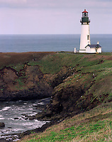 Yaquina Head Lighthouse Central Oregon Coast USA