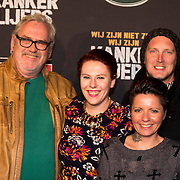 NLD/Amsterdam/20140210 - Filmpremiere Kankerlijers, Ernst Daniel Smid, dochter Coosje Smid, Sanne Kraaijkamp en partner Geerd Smid