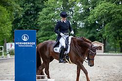 EGGERSTEDT Petra (GER), Dark Rouge<br /> Redefin - Pferdefestival 2019<br /> NÜRNBERGER Burg Pokal<br /> Qualifikation zur Finalqualifikation<br /> St-Georg Special: 7-9-jährige Pferde<br /> 25. Mai 2019<br /> © www.sportfotos-lafrentz.de/Stefan Lafrentz