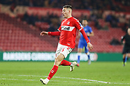 Middlesbrough forward Stephen Walker (46) in action during The FA Cup 3rd round match between Middlesbrough and Peterborough United at the Riverside Stadium, Middlesbrough, England on 5 January 2019.