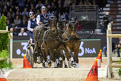Exell Boyd, AUS, Bajnok, Demi, Barny, Rocket<br /> Jumping International de Bordeaux 2020<br /> © Hippo Foto - Dirk Caremans<br />  09/02/2020