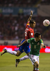 September 6, 2017 - San Jose, Costa Rica - 8-6-2017: San Jose Costa Rica, Estadio Nacional Costa Rica V Mexico game for FIFA World Cup qualifications Final score 1-1 (Credit Image: © Victor Baldizon/ZUMA Wire/ZUMAPRESS.com)