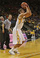 December 29 2010: Iowa Hawkeyes guard/forward Eric May (25) puts up a shot during the first half of an NCAA college basketball game at Carver-Hawkeye Arena in Iowa City, Iowa on December 29, 2010. Illinois defeated Iowa 87-77.