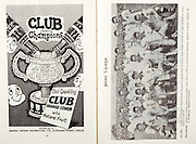 All Ireland Senior Hurling Championship Final,.06.09.1959, 09.06.1959, 6th September 1959,.Minor Kilkenny v Tipperary, .Senior Kilkenny v Limerick, Waterford 3-12. Kilkenny 1-10, ..Advertisement, Club Orange, Club Lemon, Mineral Waters Distributors Ltd, ..Waterford,