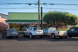 Ala Malama Ave In Downtown Kaunakakai