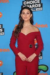 INGLEWOOD, CA - MARCH 24: Mel B. attends Nickelodeon's 2018 Kids' Choice Awards at The Forum on March 24, 2018 in Inglewood, California. Credit: Faye Sadou / MediaPunch. 24 Mar 2018 Pictured: Kira Kosarin. Photo credit: FS/MPI/Capital Pictures / MEGA TheMegaAgency.com +1 888 505 6342