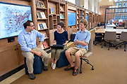 Photography ©Mara Lavitt<br /> September 12, 2018<br /> <br /> The new location for Yale's Digital Humanities Lab, Franke Room, Sterling Memorial Library, Yale University, New Haven