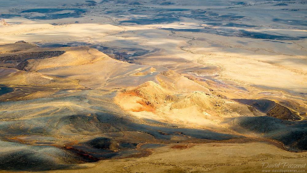 Judean desert hills in Israel.