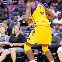 24 July 2014: Los Angeles Sparks forward/center Sandrine Gruda (7) is seen during the Phoenix Mercury 93-73 victory over the Los Angeles Sparks, at the Staples Center, Los Angeles, California, USA.