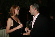 Anahita Resort launch party. Wallace Collection. London. 12 September 2007. ( Photo by Dafydd Jones)   Olivia Inge;Nicolas Vaudin  -DO NOT ARCHIVE-© Copyright Photograph by Dafydd Jones. 248 Clapham Rd. London SW9 0PZ. Tel 0207 820 0771. www.dafjones.com.