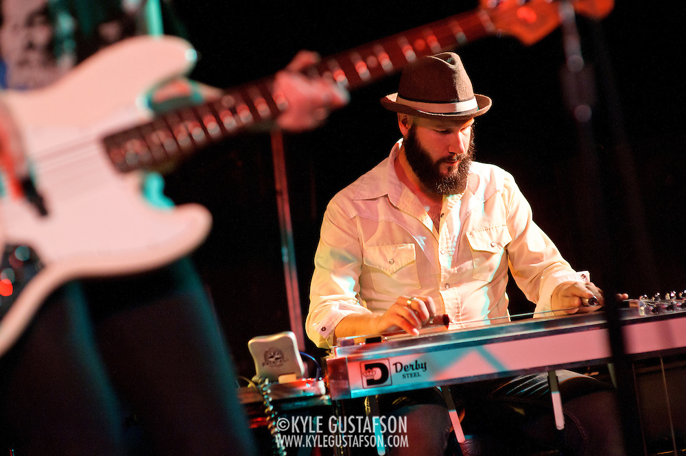 WASHINGTON, DC - July 7th, 2012 -  J. Tom Hnatow of These United States performs at the Black Cat in Washington, D.C. The band's D.C. show was the final stop on their tour promoting their recent, self-titled album release. (Photo by Kyle Gustafson/For The Washington Post) ....