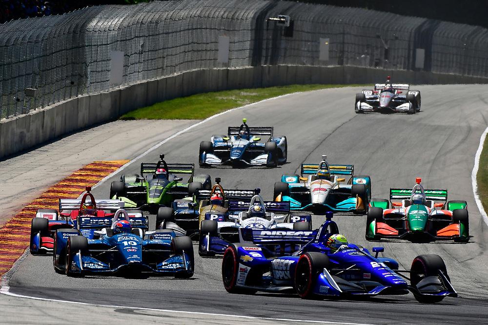 Spencer Pigot, Ed Carpenter Racing Chevrolet<br /> Sunday 24 June 2018<br /> KOHLER Grand Prix at Road America<br /> Verizon IndyCar Series<br /> Road America WI USA<br /> World Copyright: Scott R LePage