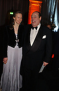 hon Nicholas and Serena Soames. The Black and White Winter Ball. Old Billingsgate. London. 8 February 2006. -DO NOT ARCHIVE-© Copyright Photograph by Dafydd Jones 66 Stockwell Park Rd. London SW9 0DA Tel 020 7733 0108 www.dafjones.com