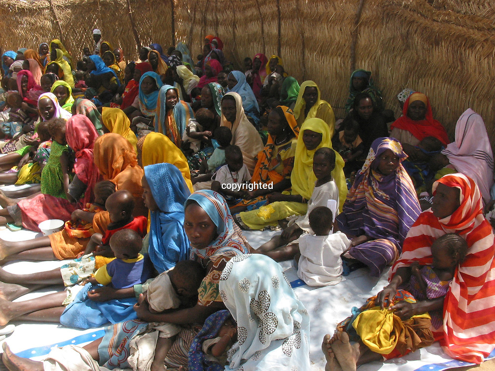 conflict in darfur, sudan led to high levels of malnutrition
