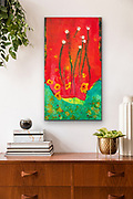 """'Revival No. 5' . 23"""" x 40"""" . Acrylic on Canvas . SOLD"""