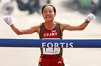 Friidrett. Rotterdam Maraton 21.04.2002.<br /> Takami Oninami fra Japan. 2.23.43.<br /> Foto: Ronald Hoogendoorn, Digitalsport