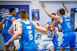 Rogkavopoulos  Nikolaos of Greece during basketball match between National teams of Greece and Slovenia in the Group Phase C of FIBA U18 European Championship 2019, on July 29, 2019 in  Nea Ionia Hall, Volos, Greece. Photo by Vid Ponikvar / Sportida