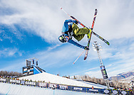 David Wise at the Winter X Games in Aspen, Colorado.