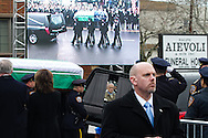 The funeral for officer Wenjian Liu, a son of Chinese immigrants, who was killed with his partner Rafael Ramos on  December 20th, was held today in Dyker Heights, Brooklyn, New York.